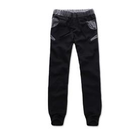 Wholesale Korean Boy S - Wholesale- 2016 Hot Casual Korean Style Mens Boys Pants Trousers Jogger Sweatpants