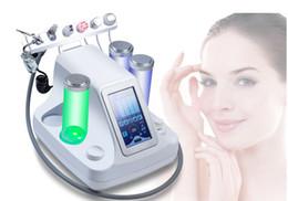 Wholesale Wholesale Oxygen Machine - 6 in1 portable Hydro dermabrasion facial SPA machine water oxygen jet peel equipment BIO skin lifting salon use