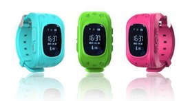 Wholesale Emergency Calling - Q50 GPS Tracker Watch For Kids SOS Emergency Anti Lost Bracelet Wristband Two Way Communication Smart Phone App Wearable Devices Epacket