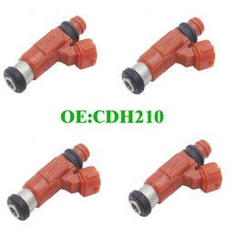 Wholesale Outboard Wholesalers - 4pcs CDH210 FLOW MATCHED motorcycle 115 HP Fuel Injector fuel nozzle INP771 For Yamaha Outboard