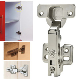 Wholesale Hydraulic Cabinet Door Hinges - Wholesale- Soft Close Full Overlay Kitchen Cabinet Cupboard Hydraulic Door 35mm Hinge Cups