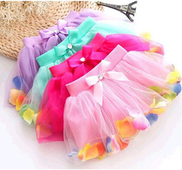 Wholesale Kids Ballet Purple Skirt - Fashion Baby Girls Childrens Kids Dancing Tulle Tutu Skirts Pettiskirt Dancewear Ballet Dress Clothing Fancy Skirts Costume Dance Ball Gown