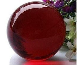 Wholesale sphere magic - Wholesale Asian Rare Quartz Red Magic Crystal Healing Ball Sphere 40mm + Stand