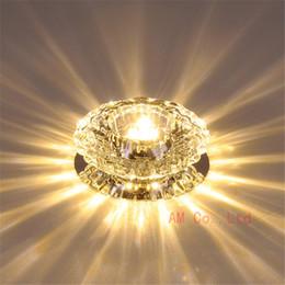 Lampadario di cristallo moderno di illuminazione domestica del dispositivo della lampada di pendente della plafoniera del LED da