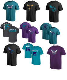 Wholesale Tee Shirt 12 - 2017 USA basketball tee Hornets 15 WALKER 12 HOWARD NAME AND Number Teal Primary Logo T-Shirt