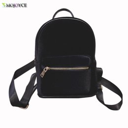 Wholesale Faux Fashion Backpack - Wholesale- Backpack Women 2017 Newest Stylish Cool Faux Suede Small Backpack Female Hot Selling Women Bag Sac a dos Rugzak Fast Shipping