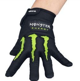 Wholesale Finger Sports - Cool Unisex Cycling Gloves Men Sports Full Finger Anti Slip Gel Pad Motorcycle MTB Road Bike Gloves Bicycle Gloves