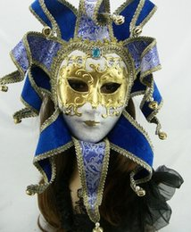 Wholesale Venice Masquerade Carnival - Stylish women's Sexy Halloween masquerade masks, Venice style round face masks, Easter bars, bar parties, carnivals   free transportation
