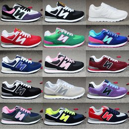 Wholesale Chocolate Cottons - dorp shipping women men's South Korea Joker shoes letters breathable running shoes sneakers canvas Casual shoes shoe