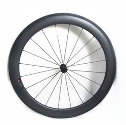 Wholesale Cycling Road Wheels Carbon - 700C 55mm depth cheap full carbon bike tubeless clincher road wheelset super quality wider wheels for cycling freeshipping now