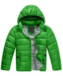 Wholesale Girls Coat Waterproof Down Jacket - New Fashion brand children waterproof Down Jacket Boys Coat Long Sleeve Hooded Coats Girls Down Coats Boys 3T-12T