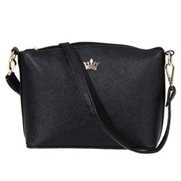Wholesale Imperial Fashion - Casual Small Imperial Crown Handbags New Fashion Ladies Party Purse Women Crossbody Shoulder Bag Candy Color Women Messenger Bag
