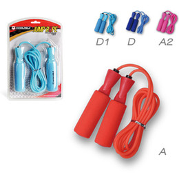 Wholesale Jumping Rope Handles - Winmax beautiful color jump rope OAM handle rubber jump rope for women and men fitness sports