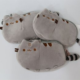Wholesale Wholesale Animal Purses For Children - Pusheen Cat Plush Stuffed Doll Animals Coin Bag Toys For Child Best Gifts 18x12cm wholesale F2017237