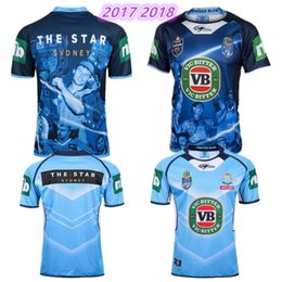 Wholesale Wales Rugby Shirt - TOP Thai quality NSW Origin Jersey 2016 Classic New South Wales Blues State of Origin Rugby Jersey New South Wales Blues State Rugby Shirt