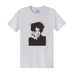 Wholesale Rock Smith - 2016 New The Cure T Shirts Men Casual Cotton Men Robert Smith T-shirts Short Sleeve Fashion shirts Man Rock Tops Tees OT-034