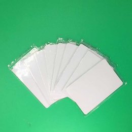Wholesale Magnetic Card Access Control - Wholesale- 100pcs 0.8mm thickness 13.56Mhz Proximity IC Card Control Entry Access 13.56MHz MF 0.8mm White Thin M1 Card