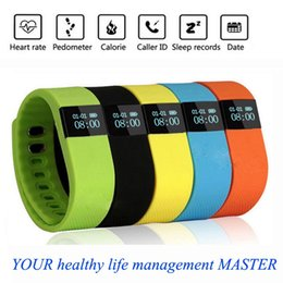 Wholesale Lovers Sleep - Free shipping The silicone intelligent bracelet Mobile phone bluetooth wear sports lovers step gauge health bracelet