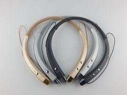 Wholesale Handsfree For Lg - HBS913 Wireless Headphones Bluetooth 4.0 Stereo Headset Sport Headphones Neckband Handsfree for LG Iphone SAMSUNG Smartphones With RETAIL