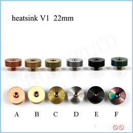 Wholesale Electronic Cigarette Generation - Electronic cigarette atomizer heat sink adapter generation one heat insulation cooling base well heat resistant fast shipping