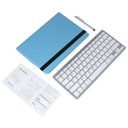 Wholesale Ipad Bluetooth Pen - New Arrival Wireless Bluetooth Keyboard Stylus Pen 360 Degree Rotating PU Leather Smart Case Cover for iPad Pro 9.7 Inch