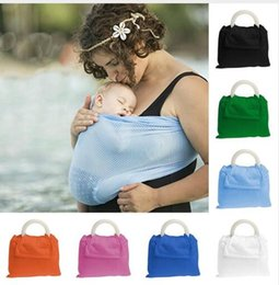 Wholesale Infant Carry Bag - Multifunctional Baby Sling Infant Breastfeed Sling Baby Stretchy baby Wrap Carrier Backpack Bag kids Breastfeeding Hipseat KKA2480