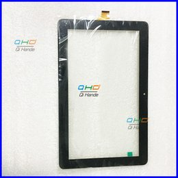 "Wholesale I Touch Tablets - Wholesale- New Touch Screen Panel for 10.1"" Trekstor Surftab Xintron i 10.1 3G ST10408-9 Tablet Digitizer Glass Sensor Free Shipping"