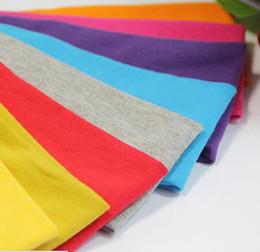 Canada Bandeau en coton enfants bébé infantile bandeaux solides souples bandeaux accessoires pour cheveux Offre