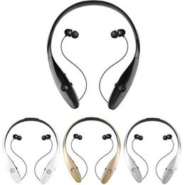 Wholesale Hot Black Wireless Usb - Hot Stereo HBS-900 Bluetooth Wireless headphone,Luxury HBS900 Sports in-Ear buds bluetooth neckband headsets for Smart Phones