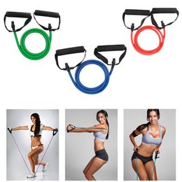 Wholesale Power Fitness - Bands Stretch Tension Rope Physical Fitness Equipment Power Assisted Women Fitness Tools Slimming Supplies Yoga Exercise Rope