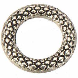 Kreisringverbinder online-runde kreis 14mm diy schmuck machen schließen keine leere glatte schal ringe silber metall mode-accessoire für handwerk seil anschlüsse 300 stücke