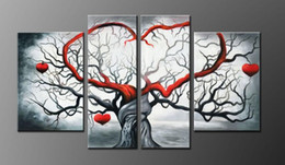 Wholesale Manufacturers Life - Unframed Oil Painting Hand Canvas Manufacturers Selling Pure Hand-painted Abstract Gray Love Sitting Wall For Room Adornment 4 Meeting