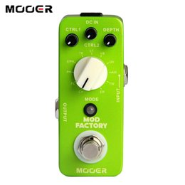 Wholesale Mooer Mods - Mooer Mod Factory Modulation guitar Pedal Collected 11 kinds of classic modulation Guitar effect pedal
