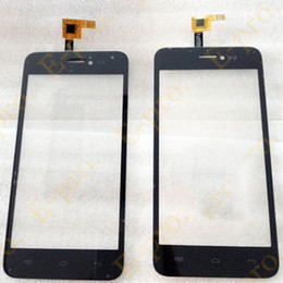 2019 объектив 3 м Wholesale- New Touch Screen Digitizer For Explay Craft Touchscreen Sensor Panel Front Glass Lens Black Color+3M Sticker дешево объектив 3 м