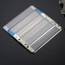 Para Samsung Galaxy S7 Edge SM-G935 Película protectora de galvanoplastia PET cubierta completa de cristal templado Protector de pantalla 9H 4D Arc 0.26mm desde fabricantes