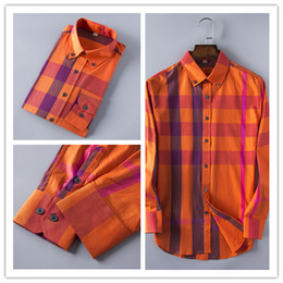 Wholesale Dress Shirts Cufflinks - Wholesale-New 2017 High quality Men Shirts Designer Brand Fashion Business Casual Dress Shirt with french cufflinks Men Shirts M-XXL