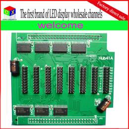 wifi llevó señal Rebajas El tablero libre Hub41A del envío para el sistema de control síncrono llevado puede emparejar Linsn RV901 Nova MRV3000 Colorlight 5A