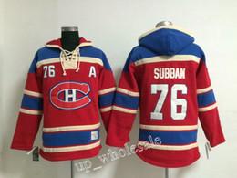 Hoodie do estilo do hóquei on-line-Montreal Canadiens # 76 P.K. Subpano # 67 Max Pacioretty # 51 David Desharnais # 33 Hoodie Do Hóquei De Patrick Roy Camisas Novas Da Camisola Do Estilo