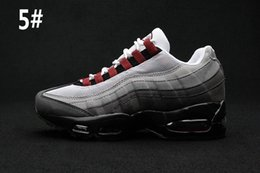Wholesale Cheap Gingham - 2016 New Cheap Men women airs sports 95 Casual Shoes Fashion athletic Walking training sporting Racer shoes size eur 36-45