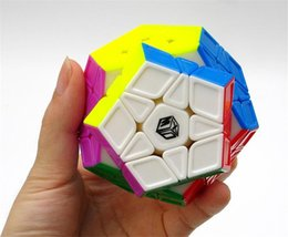 Wholesale Convex Plane - Newest X-Man Galaxy Megaminx Sculpture Convex Concave Plane Cubo Magico Qiyi Valk 3 3x3 Speed Cube Learning Educational Toy