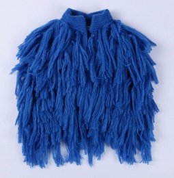 Wholesale Girls Knitting Waistcoat Vest - Retail Spring Autumn New Girls Waistcoat Children Clothes Tassels Knitting Wool Cute Vests 1-5Y 15037