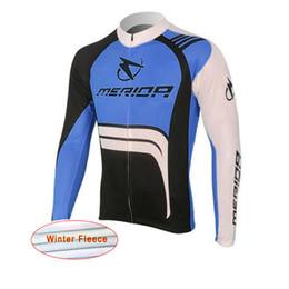 Wholesale Cycling Merida Long - Merida Winter thermal fleece cycling jersey long ropa ciclismo mtb bike clothes cycling clothing popular style D1207