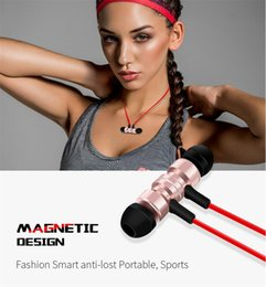 Wholesale Wireless Headsets For Laptops - New Bluetooth headphones Wireless Bluetooth V4.1 Smart Noise Reduction Sport Stereo Earphones with Mic for Smartphones and Laptops Earbuds
