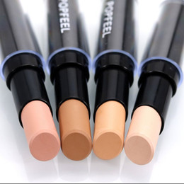 Wholesale Acne Pore Pen - Single Head Concealer Face Foundation Makeup Natural Cream Concealer Pen Highlight Contour Pen Stick Professional Tool
