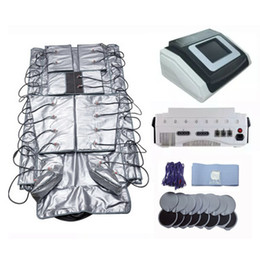 Wholesale Electric Stimulation Muscle - Far Infrared Pressotherapy Lymphatic Drainage Machine Infrared Thermal Blanket Body Wrap Blanket With EMS Electric Muscle Stimulation