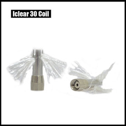 Wholesale Iclear Coil Factory - Healthy Huge Vapor Iclear 30 Wick And Coil Replacement Factory wholesale High-quality DHL Free 0 202014