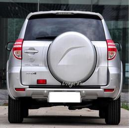 Крышка toyota rav4 онлайн-3Color Черный, Белый, Серебристый Высокое качество ABS Запасная крышка для шин Пластиковая крышка для запасных шин, пригодная для 09-12 Toyota Rav4 RAV4 Toyota RAV4