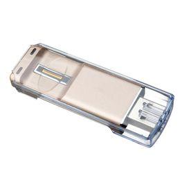Otg flash drives online-Fingerprint Sliding Unlock USB Flash Drive 2.0 OTG Pen Drive para Android Smart Phone Flash Memory Stick Pendrive U disk