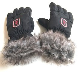 Wholesale Rabbit Finger Gloves - Top Quality Driving Ride Gloves Women Models Cute Imitation Rabbit Hair Gloves Autumn Winter Plus Cashmere Students Korean Version