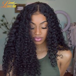 Wholesale 14 Inch Curly Weave - Peruvian Curly Human Hair Weaves 100% Virgin Unprocessed 8A Brazilian Malaysian Indian Cambodian Mongolian Jerry Kinky Curls Hair Extensions